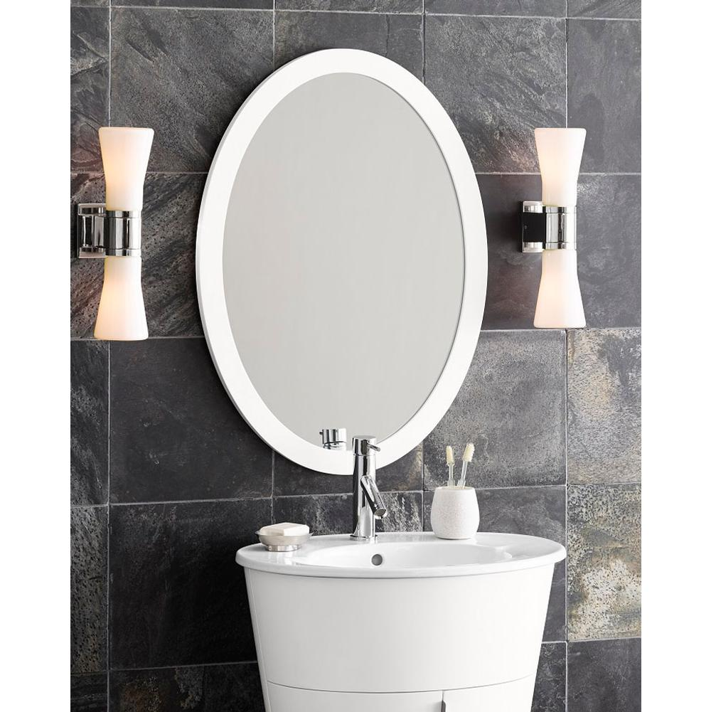 Oval framed bathroom mirrors - Call For Price 600023 E23 Ronbow 23 Contemporary Solid Wood Framed Oval Bathroom Mirror