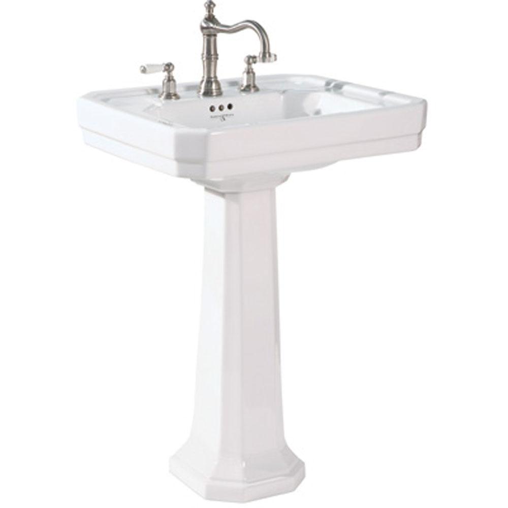 Bathroom Sinks Pedestal Bathroom Sinks Traditional | Sierra Plumbing ...
